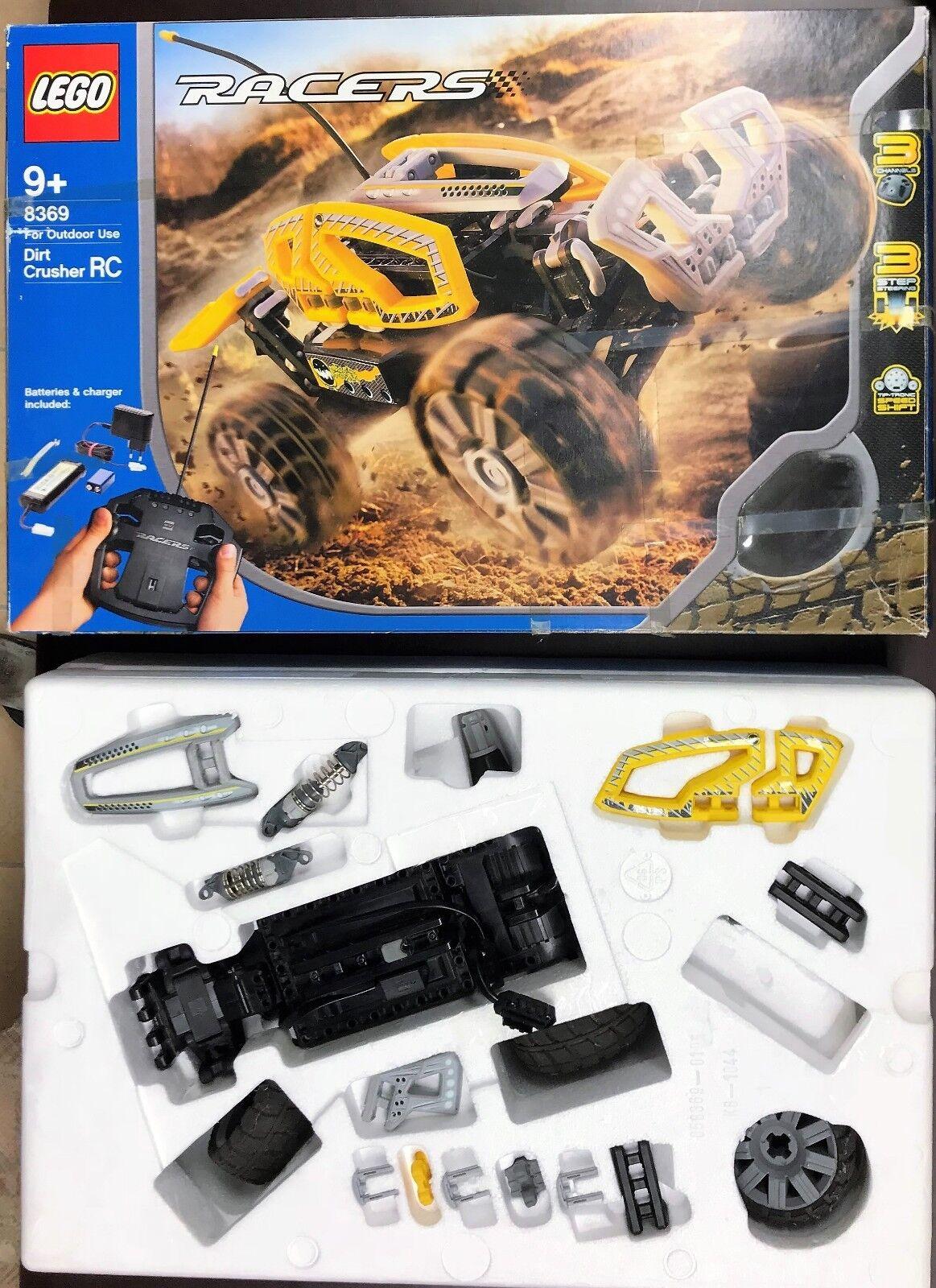 LEGO Racers Dirt Crusher RC (8369) Ferngesteuert mit OVP und Anleitung    RAR