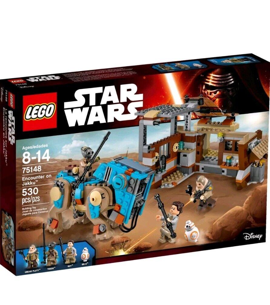 LEGO MINIFIGURE Stern WARS 75148 ENCOUNTER ON JAKKU NEW