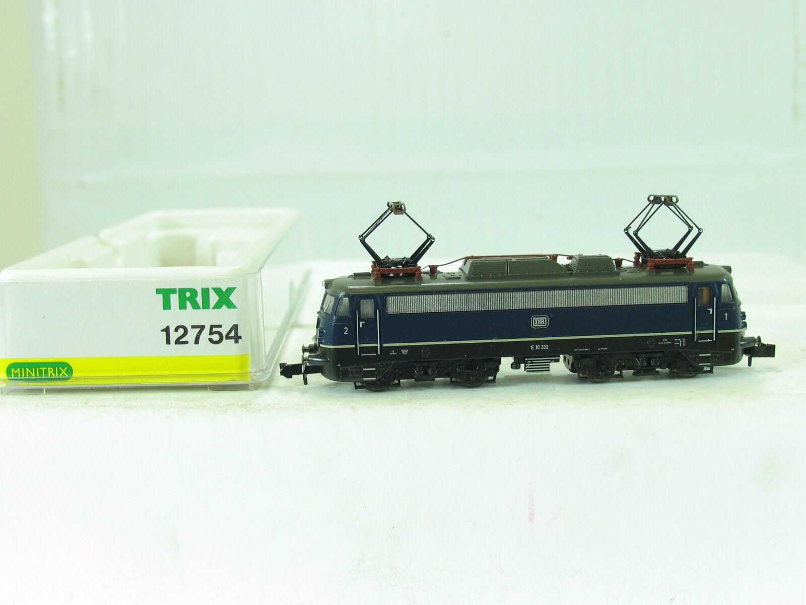 Trix N 12754 E-LOK E10 332 blue der DB  B948