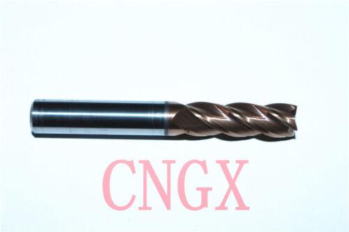 1PC DESKAR 4Flute 8.0mmx8×25×60 /<HRC60° ALL Solid Carbide End Mills Cutter