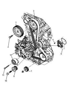 jeep wrangler 09-18 cherokee 08-12 timing belt 2.8 diesel   ebay  ebay