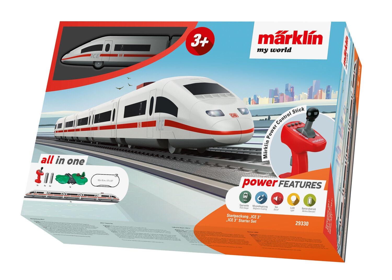 Märklin 29330 Coffret de départ  my world  GLACE 3 fonctionnant sur batterie