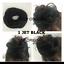 UK-Synthetic-Straight-Hair-Scrunchie-Elastic-Wrap-around-Hair-Bun-Extension thumbnail 3