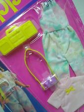 Vtg Barbie SKIPPER 80s Doll Clothes TRENDY TEEN FASHIONS 1989 8152 MOC