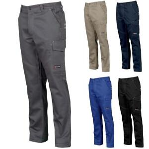 pantalone-da-lavoro-multi-tasche-COTONE-UOMO-PAYPER-WORKER-taglie-forti-officina