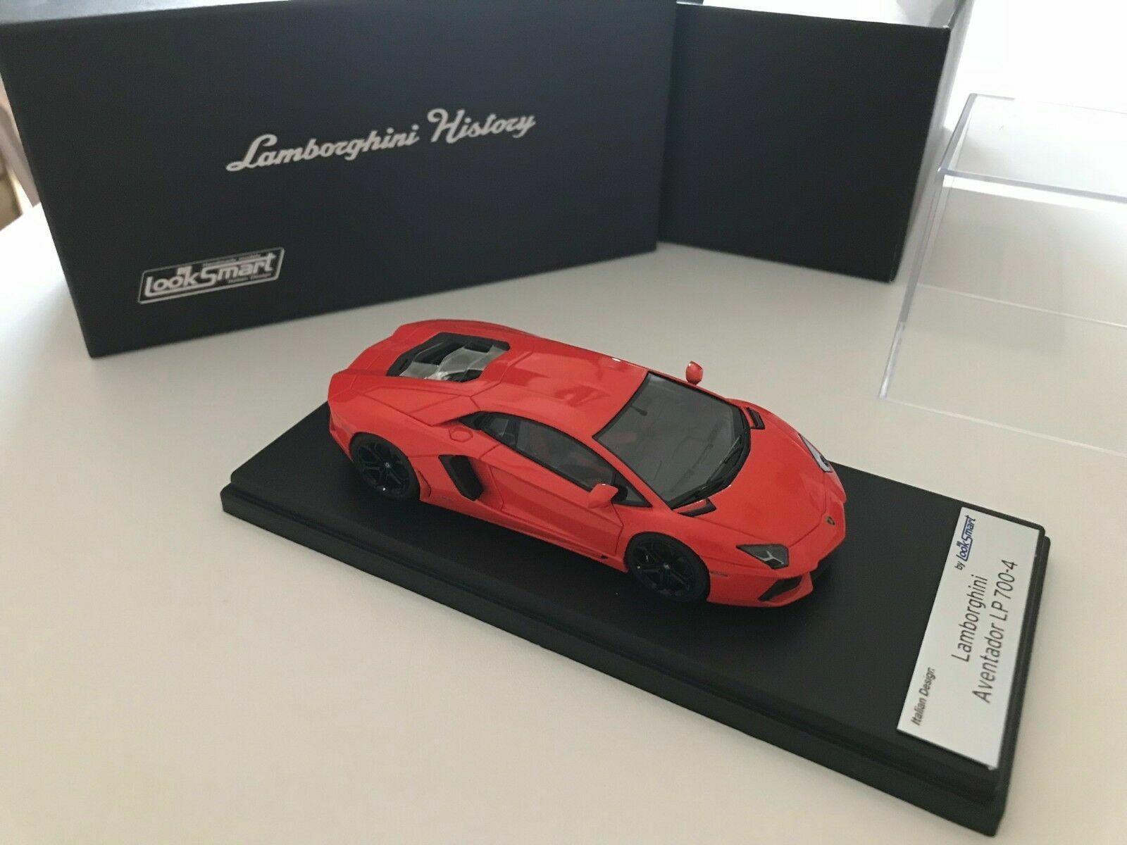Lamborghini Aventador LP 700-4 naranja Argos (1 43, LookSmart)