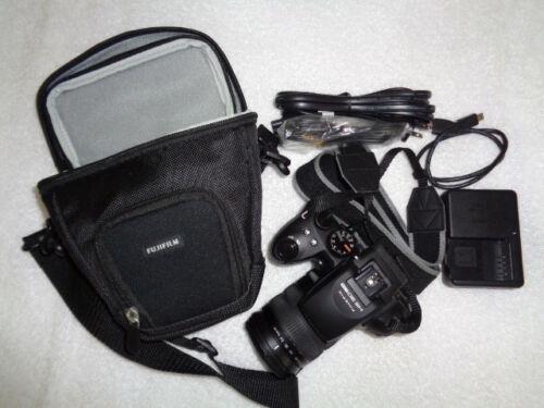 1 of 1 - Fujifilm FinePix HS Series HS30EXR 16.0MP Digital Camera - Black...