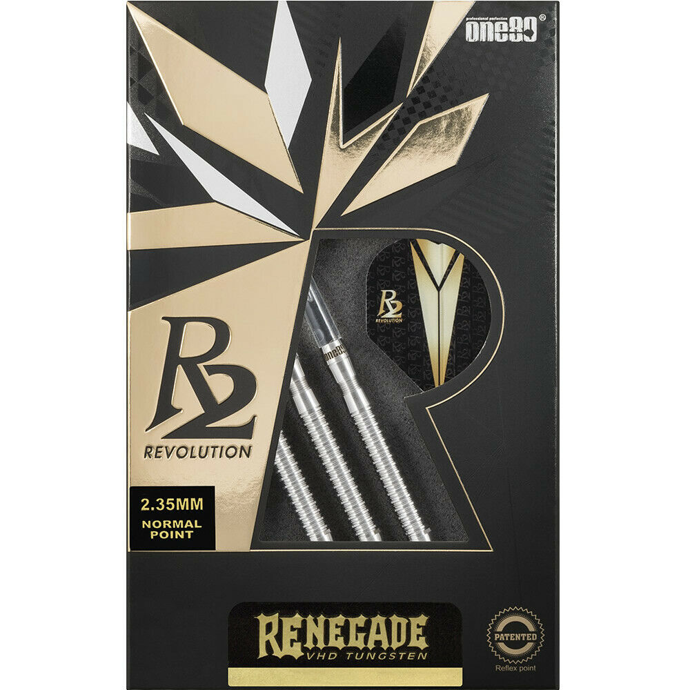 One80 Revolution 2 Darts - Steel Tip Tungsten - with Replaceable Normal Point