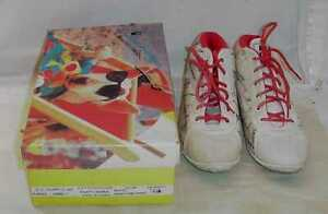 VINTAGE-SPUDS-MACKENZIE-SIZE-7-1-2-HIGH-TOP-WOMANS-TENNIS-SHOES-WORN-WITH-BOX