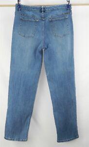 966a1307e62 Women s Liz Claiborne Straight Fit Stretch Denim Jeans size 10 R