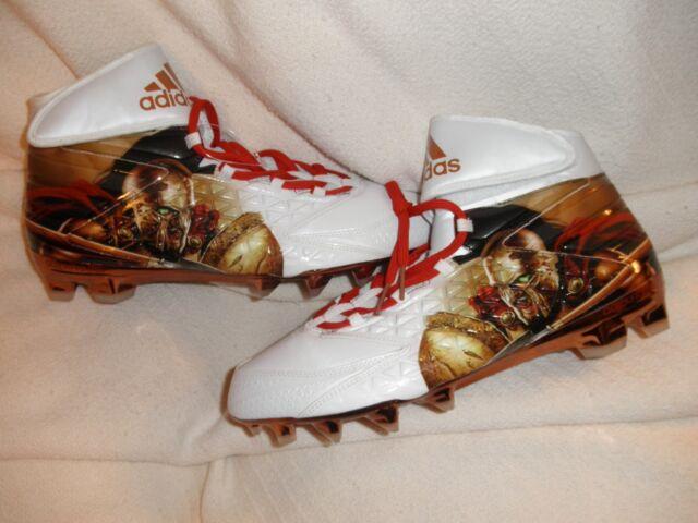 low priced db1be b570a Adidas Freak X Carbon High Uncaged Spartan Football Cleats Sz 13.5 ( AQ7824  )NEW