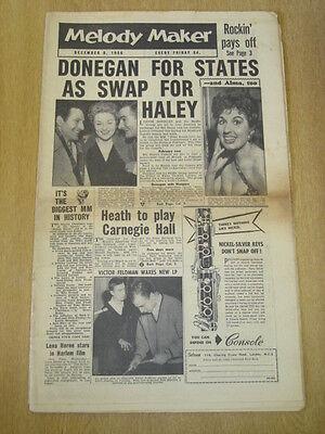 Melody Maker 1956 December 8 Lonnie Donegan Ted Heath Victor Feldman Lena Horne Bekwame Vervaardiging