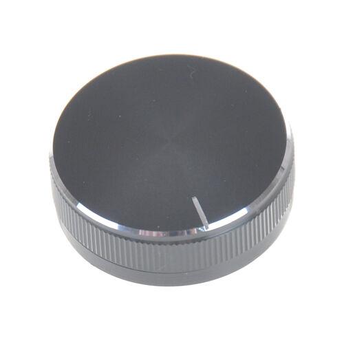 1PC Black Aluminum Volume Control Knob Amplifier Wheel 30*10mm necbTEUS