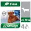 ADVANTAGE-40-100-250-400-Chiens-4-Pipettes-Anti-Puces-Fleas-treatment miniature 6