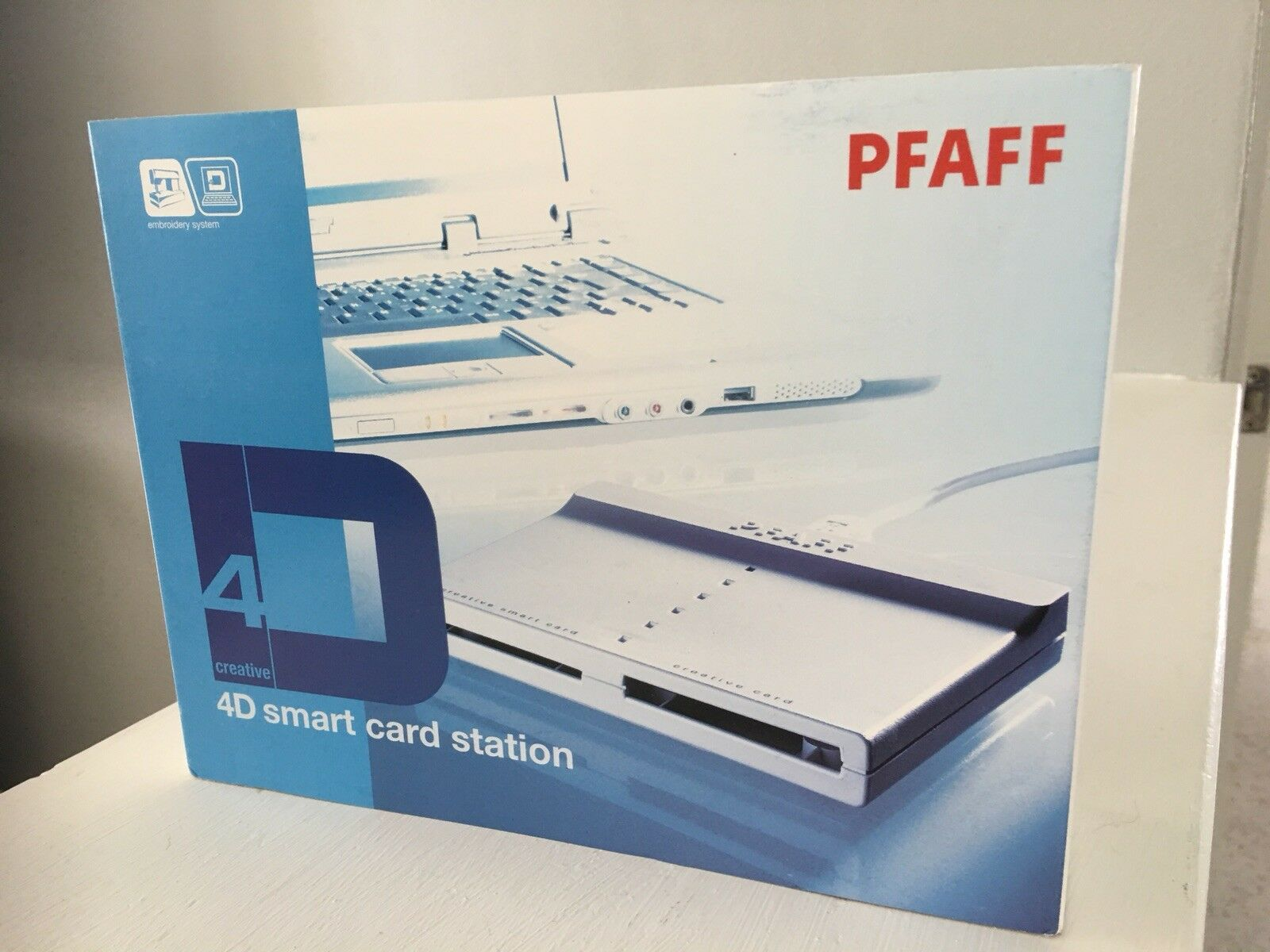 PFAFF Embroidery Creative Card-Excellent!