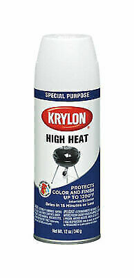 Krylon High Heat Spray Paint 12 Oz White For Sale Online Ebay