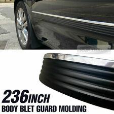 """Prostripe M293402 Chevrolet Silverado Black//Chrome 2-1//4/"""" X 34/' Moulding"""