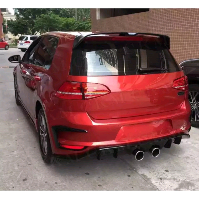 Golf 7 Gti and R Oettinger spoilers EC