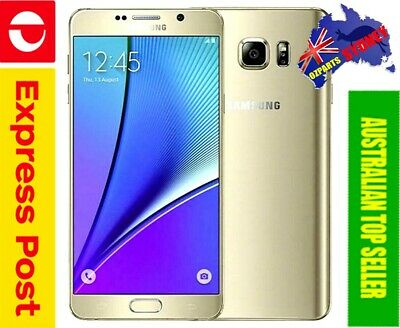 Details about  NEW Samsung Galaxy Note 5 SM-N9200 Unlocked Smartphone, 32GB, Gold, AUS Stock