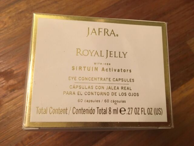 Jafra Royal Jelly Eye Concentrate 60 capsules (Capsulas con Jalea REAL) SEALED