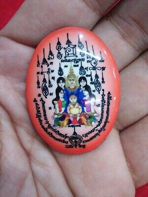 Khun Paen Statue Gold Oil Kruba Kampeng Thai Amulet Attract Love Charm Occult