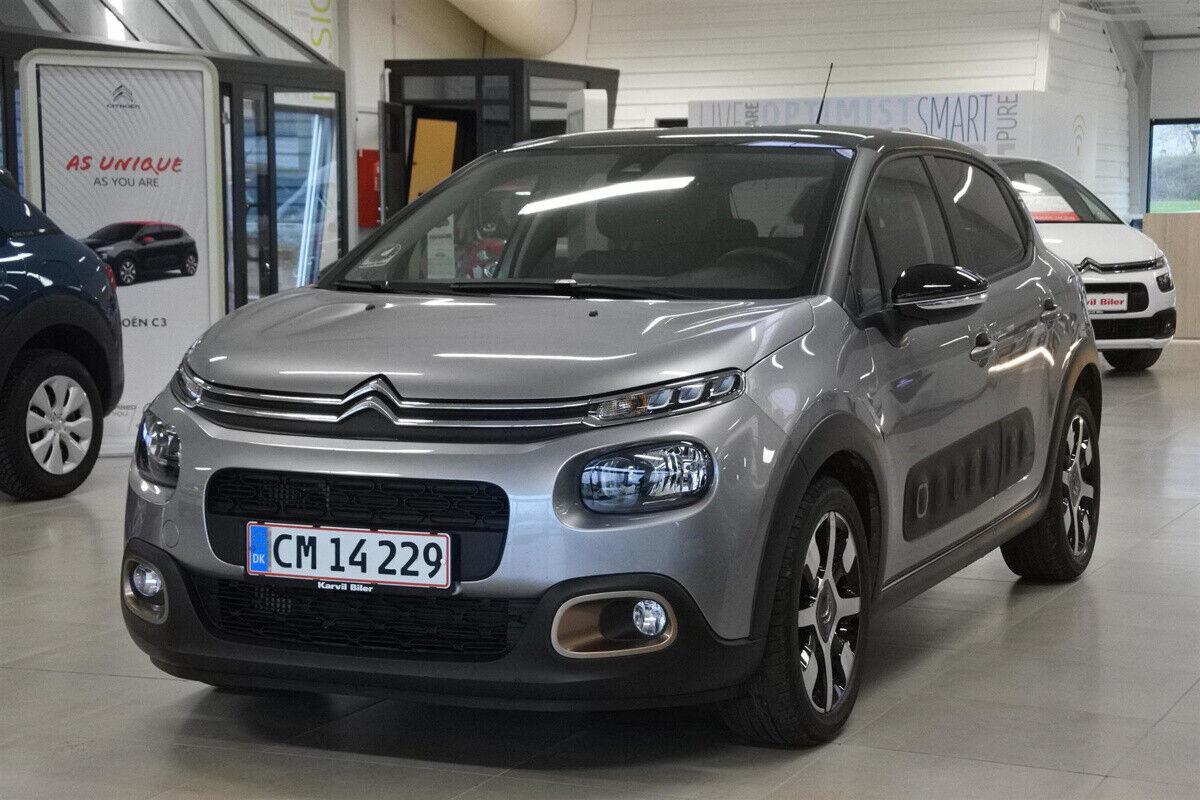 Citroën C3 1,5 BlueHDi 100 Origins 5d - 159.900 kr.