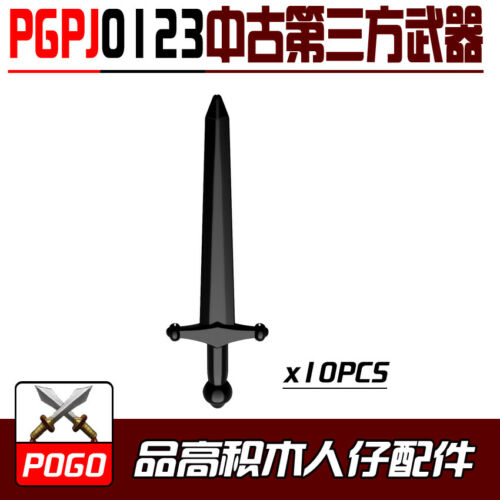 PGPJ0123 Custom Rare #0123 Compatible Kids Character 10pcs Weapons Classic #More