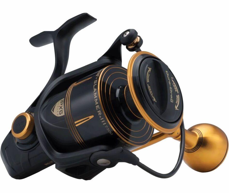 Penn SLAMMER  III 3 - SLA III 9500 Spinning Fishing Spin Reel +Warranty+NEW MODEL  amazing colorways