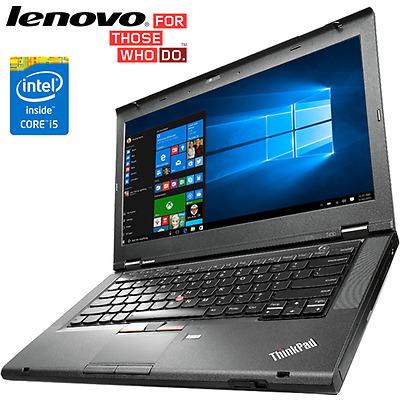"Lenovo ThinkPad T430 intel Core i5 2.6GHz 14.1"" Webcam Laptop 4GB RAM 250GB SSD"