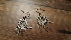 925-silver-dream-catcher-earrings-jewelry-2-8-grams