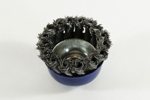 3x Fil Brosse Nouveau Zopfbürste Cône brosse pour Flex 60 mm topfdrahtbürste