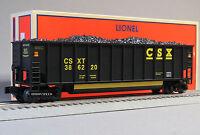 Lionel Csx Rotary Bathtub Gondola 386220 O Gauge Train 19380 Freight 6-19381