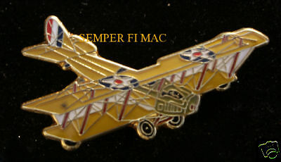 JENNY J4-ND WW 1 1918 HAT LAPEL PIN US ARMY AIR CORPS PILOT CREW WING GIFT