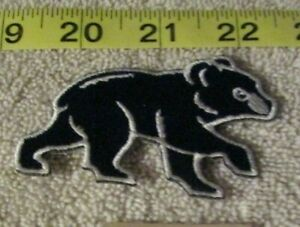 Logo Patch Iron On//Sew On Chicago Bears #4