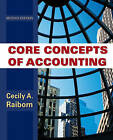 Core Concepts of Accounting by Cecily A. Raiborn (Paperback, 2009)