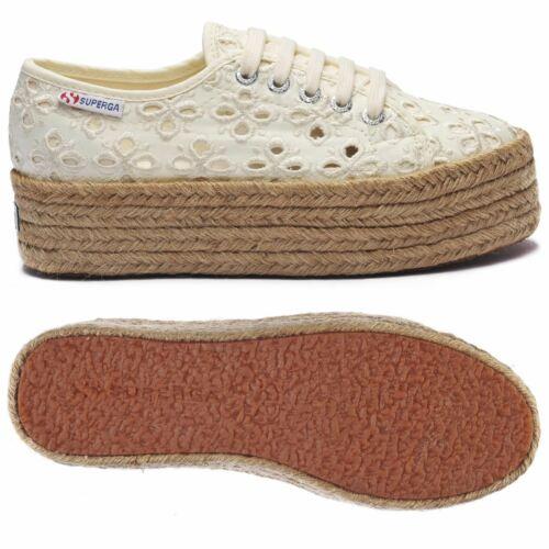 Superga Lady Shoes Woman 2790-QUATREFOILSANGALLOROPEW Leisure Wedge