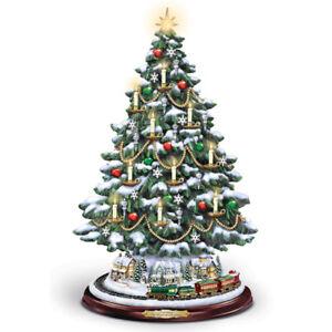 Details About The Heart Of Christmas Tree Thomas Kinkade Bradford Exchange