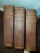 Volumes 1 - 6  in  Three books 1910 Set of Encyclopaedia Britannica 11th Edition