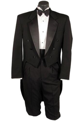 Boys//Kids  DESIGNER Black Tuxedo Tailcoat Tux Tails Ringbearer Wedding ALL SIZES