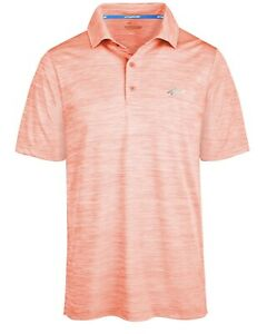 Attack-Life-By-Greg-Norman-Men-s-5-Iron-Space-Dye-Performance-Golf-Polo-Sz-Small