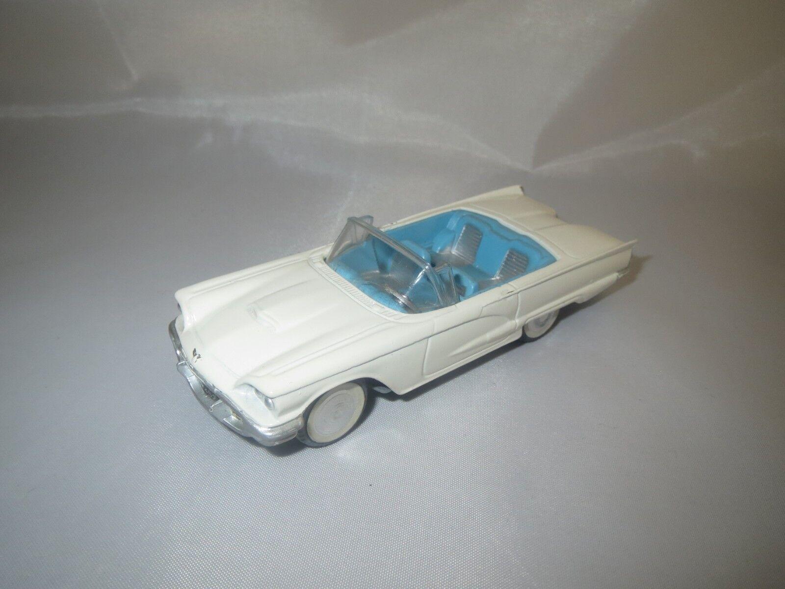 Une nouvelle génération, nouvelle sélection! CORGI TOYS FORD THUNDERBIRD Cabriolet (blanc/bleu clair) sans emballage! | Moderne