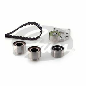 Gates Timing Cam Belt Water Pump Kit For Citroen Peugeot Tensioner KP25608XS