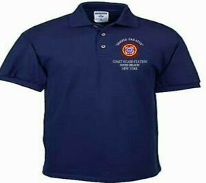COAST-GUARD-STATION-JONES-BEACH-NY-EMBROIDERED-POLO-SHIRT-CREWNECK-T-SHIRT
