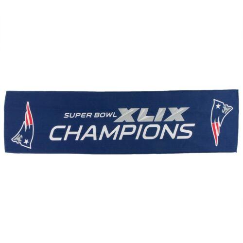 Super Bowl 49 Champions 8x30 Cooling Towel New England Patriots