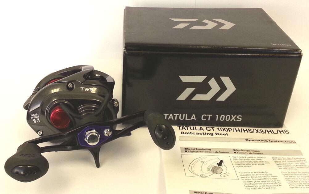 Daiwa CT Tatula CT Daiwa 100 Baitcasting Fishing Reels Left & Right Hand Retrieve 7656fc
