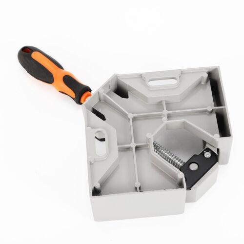 90 Deg Corner Clamp Right Angle Clamp Vice Welding Woodworking Single handle USA