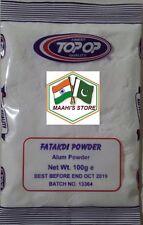1.5KG TOP OP - Fatakdi Powder (Alum Powder) 15X100g - TOP QUALITY
