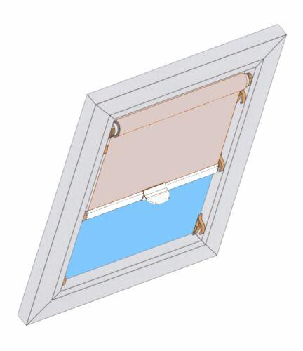 R89 R45 ROLLO DBL Dachfensterrollo Sichtschutzrollo Roto 435-848 u