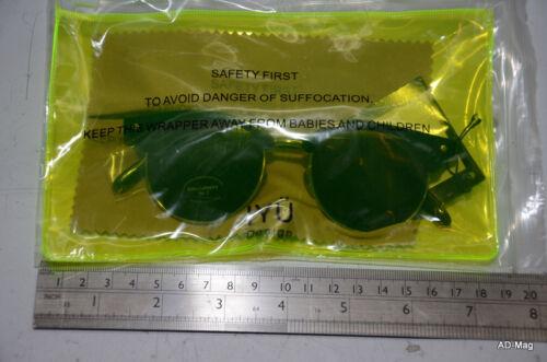 CME1513 Noir NEUF IYÜ Design lunette solaire Paire de lunettes de soleil