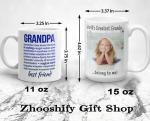 Worlds Best Grandpa Mug//Grandpa Gift
